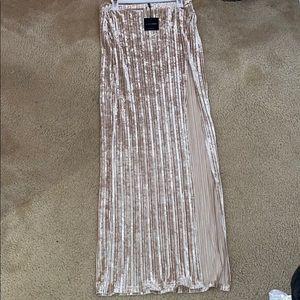 JLUXLABEL skirt with slit